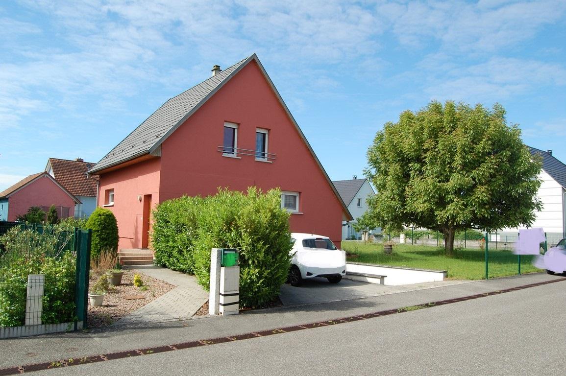 ALGOLSHEIM : Jolie maison individuelle 5P 102 m² sur 7 ares de terrain