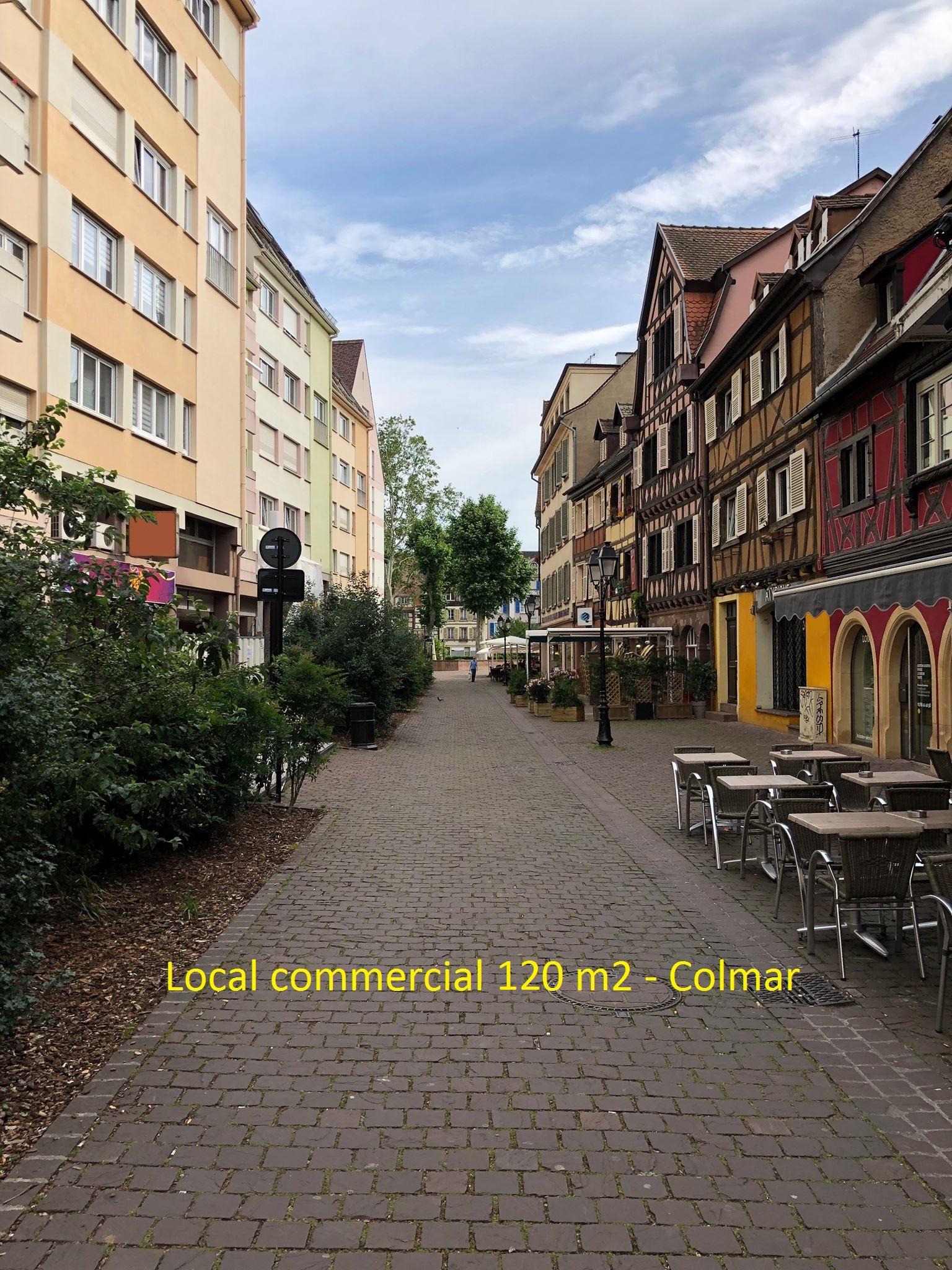 LOCAL COMMERCIAL – COLMAR