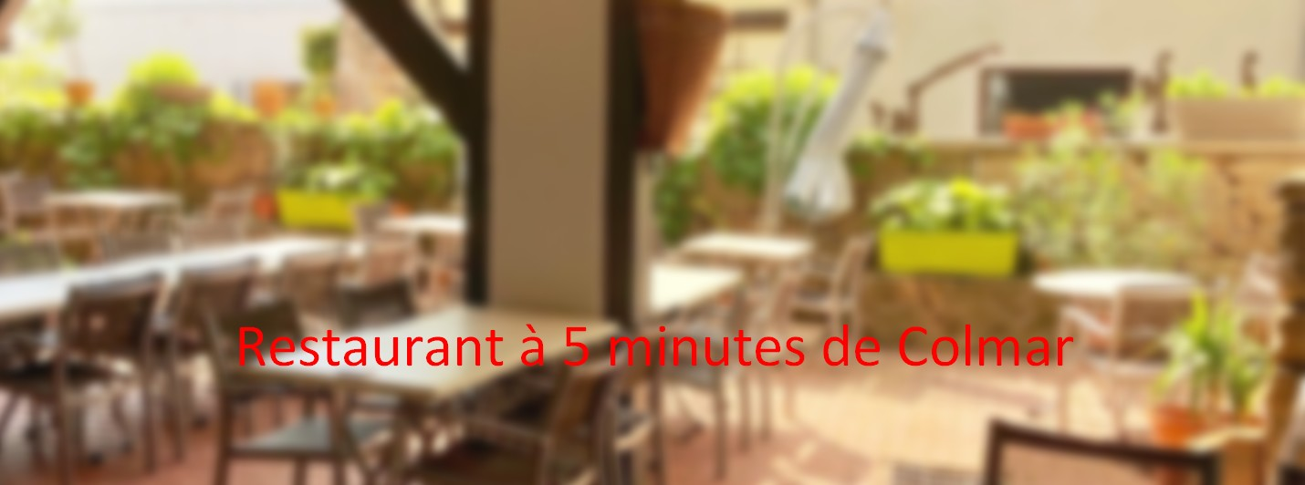 FONDS DE COMMERCE D'UN RESTAURANT – 5 MINUTES DE COLMAR