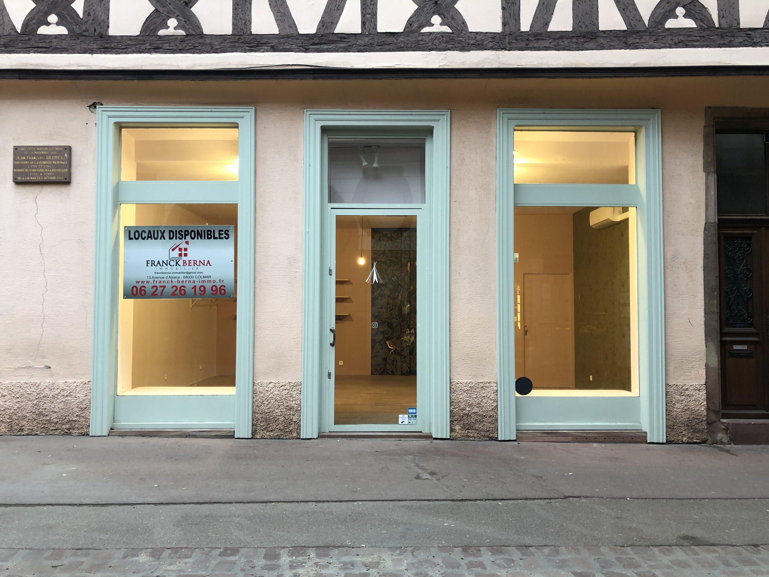 LOCAL COMMERCIAL – 39 m2 – COLMAR CENTRE