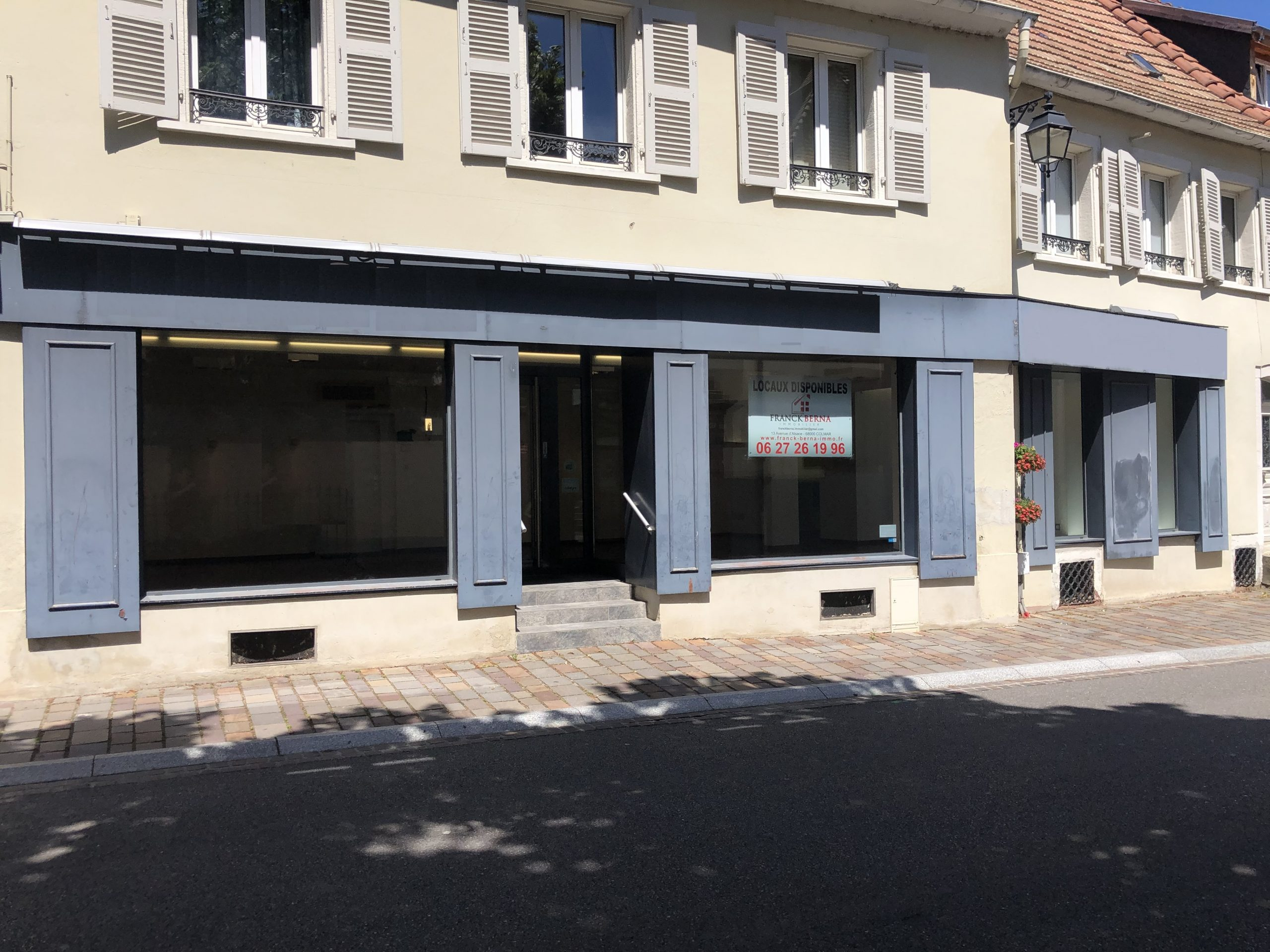 LOCAL COMMERCIAL – 70 M2 – WINTZENHEIM