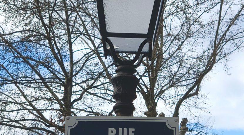 Panneau rue des Clefs Colmar