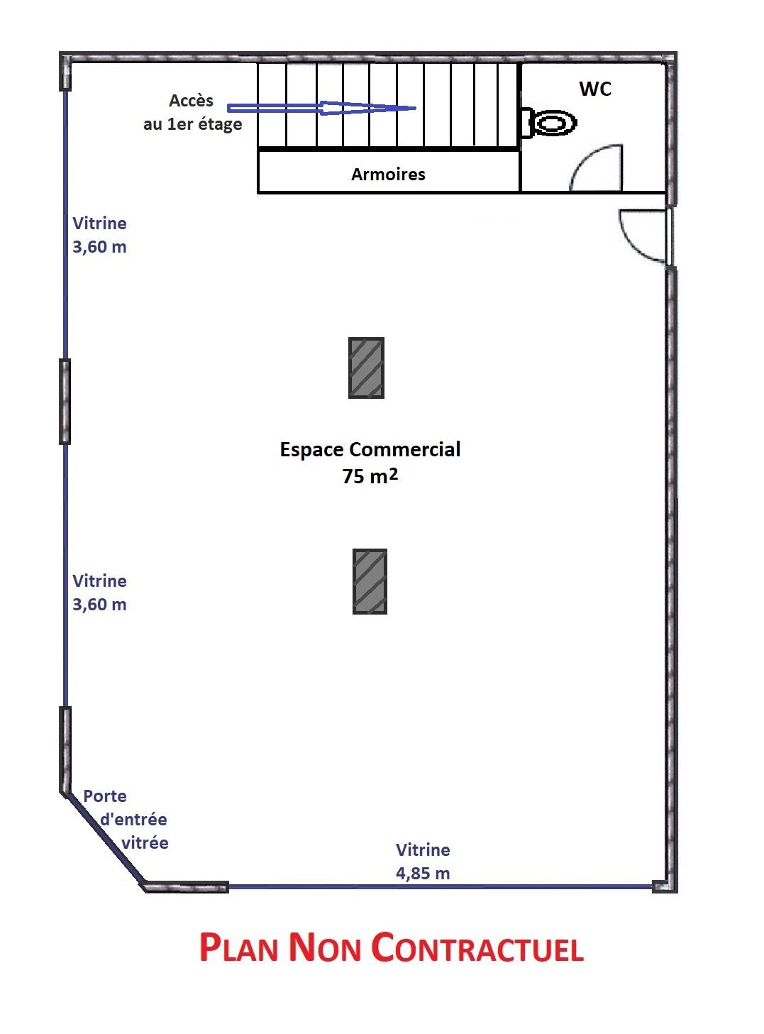 LOCAL COMMERCIAL – 150 M2 – COLMAR CENTRE