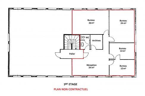 Plan 1er étage (1)