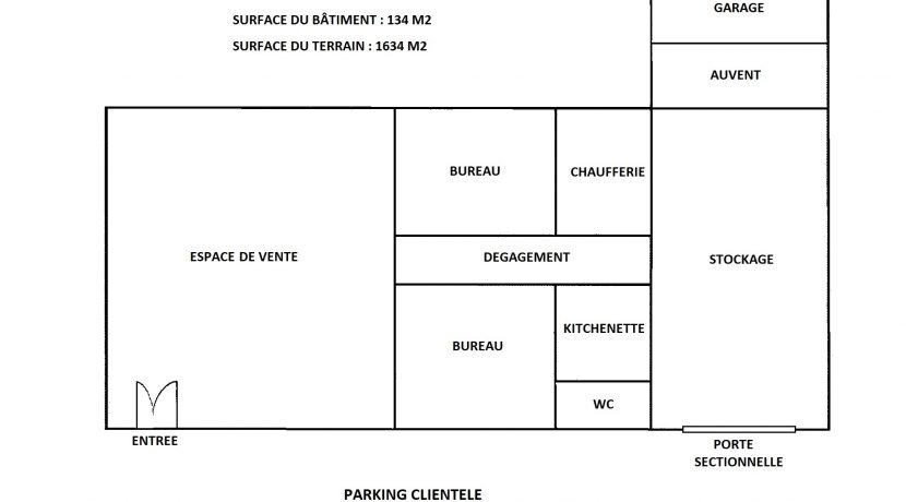 Plan des locaux
