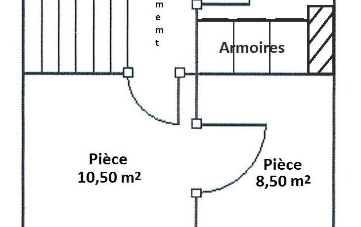 Plan du 2nd étage