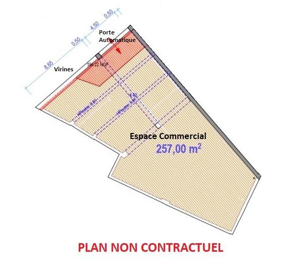LOCAL COMMERCIAL – 257 M2 – COLMAR CENTRE