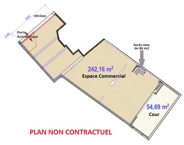 LOCAL COMMERCIAL – 242 M2 – COLMAR CENTRE