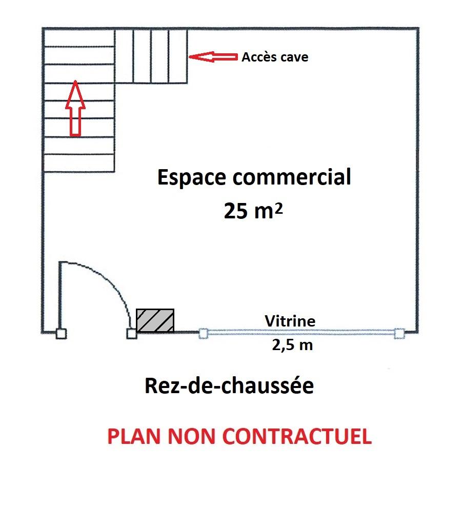LOCAL COMMERCAIL – 100 M2 SUR 4 NIVEAUX – COLMAR CENTRE